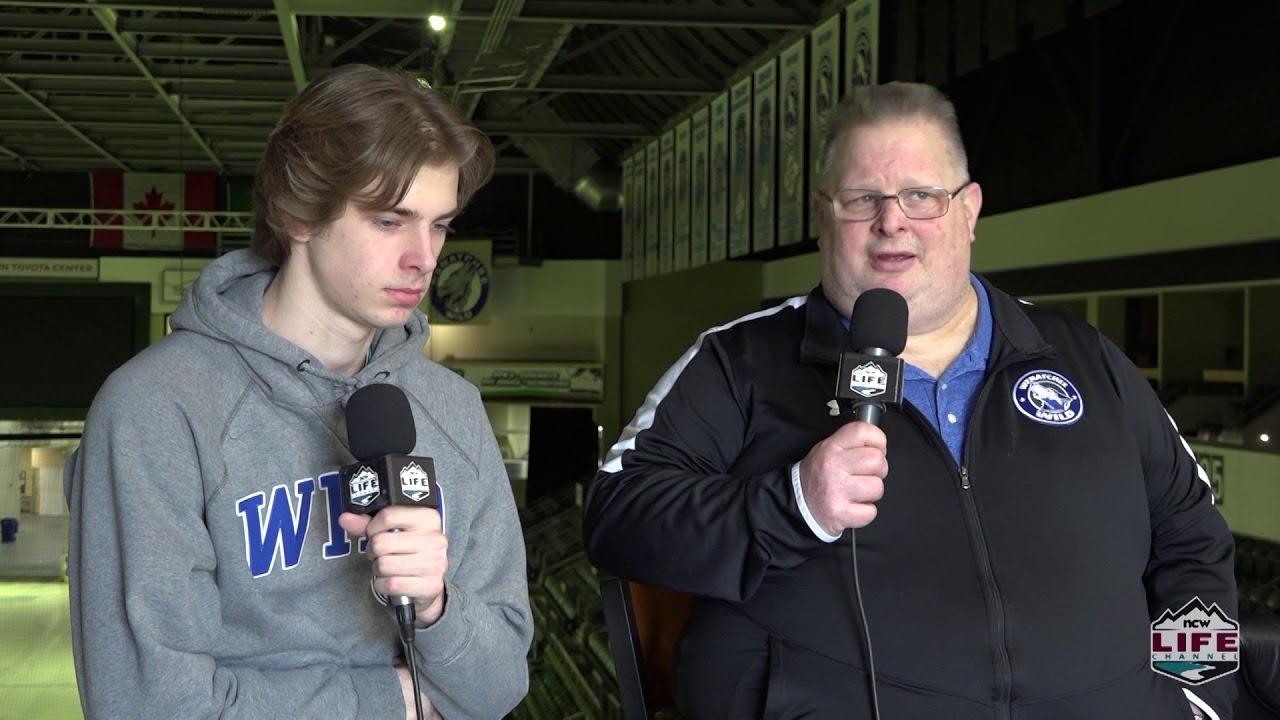 Arch Ecker on Vernon Series vs Wenatchee 2020-02-28