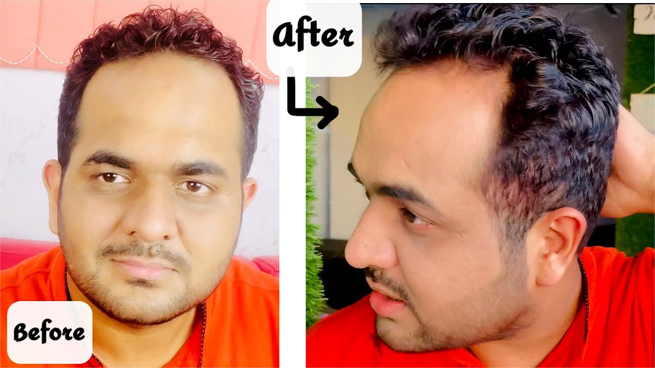 My husband finally got their hair coloured at home! | JSuper Kaur