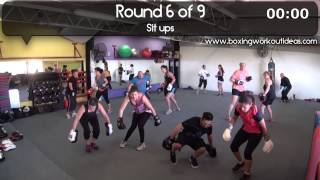 Boxing Workout Ideas - Full 45 minute workout!