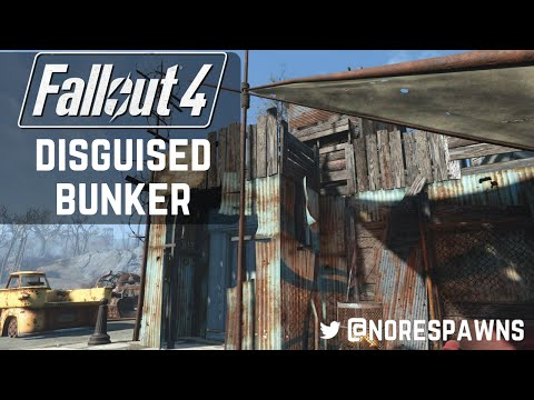 Fallout 4 Vault-Tec Workshop - Disguised Bunkers (Hidden Vaults)