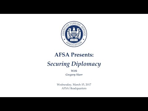 Securing Diplomacy with Gregory Starr