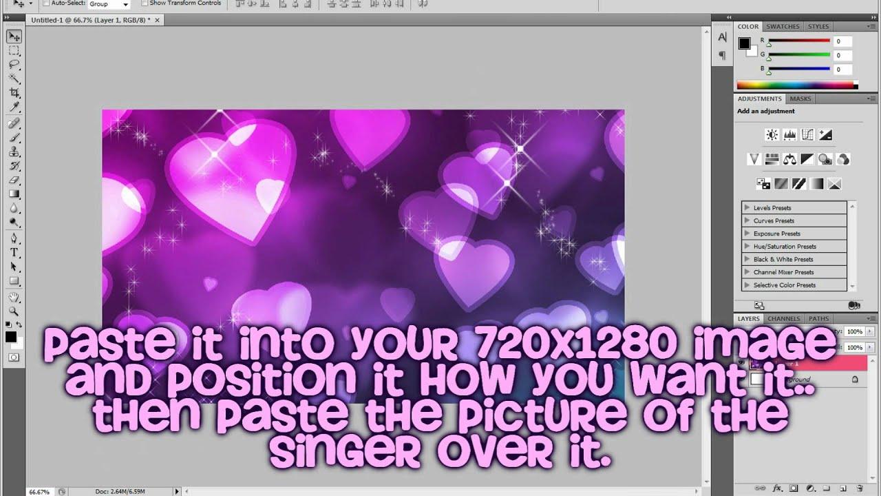 how to make lyric vdieos
