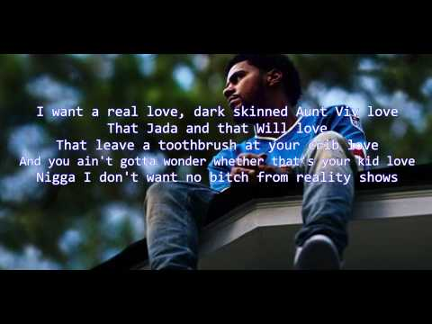J Cole  No Role Models 2014 Forest Hills Drive  LYRIC