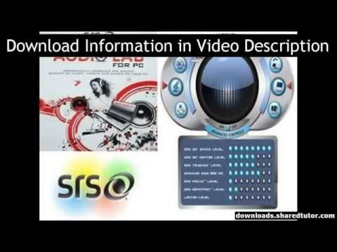 SRS HD Audio Lab Gold V1.0.46 NEW For Full Free!!!