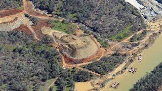 oroville dam spillway update from 3 000 3 11 17