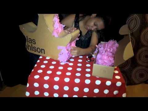 piñata de princesa - YouTube
