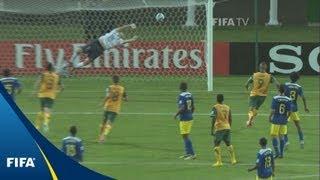 Last-minute Aussie stunner wins a point