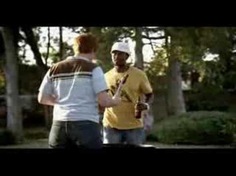 Superbowl XLI BudLight Fist Bump Commercial