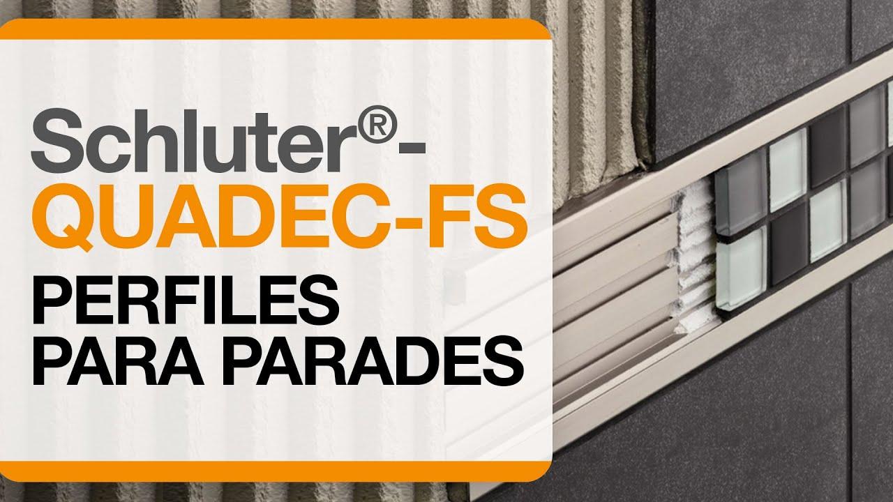 Cómo Instalar Un Perfil Decorativo Para Mosaicos Sobre Paredes Schluter Quadec Fs