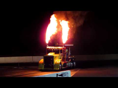 Night of Fire 2014 Lebanon Valley - Shockwave Jet Truck