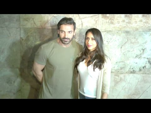 John Abraham With Beautiful Wife Priya...