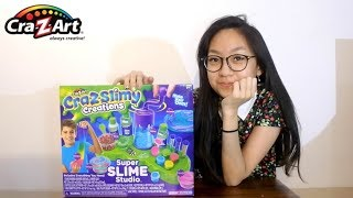 TRYING TO MAKE CRAZ SLIME CREATION