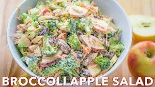 Salads: Broccoli Salad with Apples and Pecans - Natasha