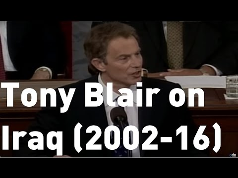 Tony Blair on Iraq over the years: From WMDs to removing Saddam Hussein