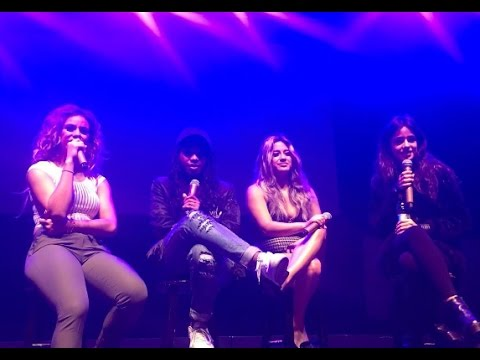 Fifth Harmony 7/27 Luxembourg Soundcheck without Lauren 26/10/16