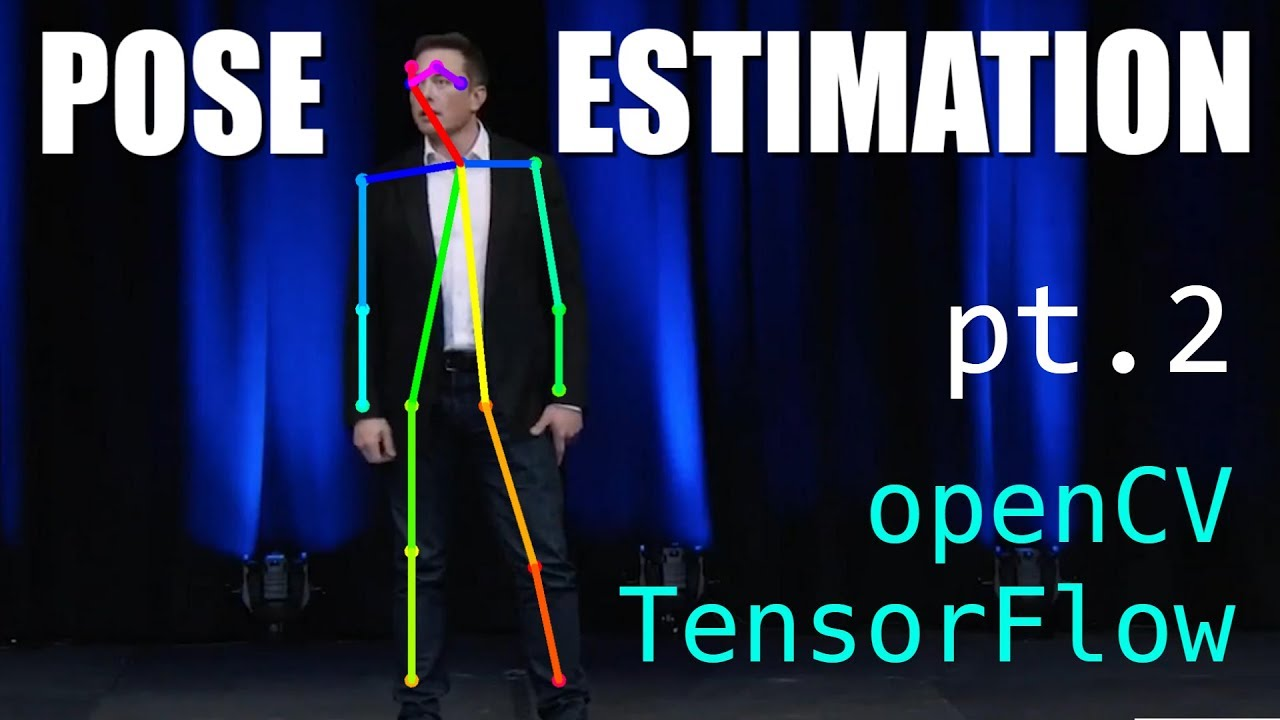 Pose Estimation with TensorFlow + openCV (pt2) 3D pose estimation