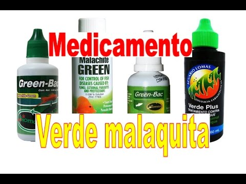verde de malaquita youtube