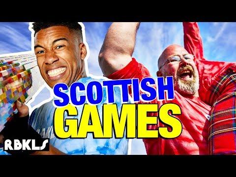 LEGO Scottish Highland Games CHALLENGE - REBRICKULOUS