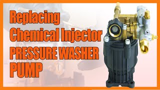 16028 kit- Servicing a Chemical Injector for a FNA or FAIP  8.6CAH12 pressure washer pump