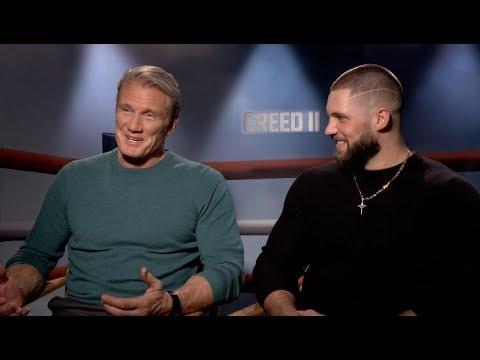 CREED 2 interviews - Michael B. Jordan, Dolph Lundgren, Florian Big Nasty Munteanu, Tessa Thompson