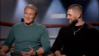 CREED 2 interviews - Michael B. Jordan, Dolph Lundgren, Florian Big Nasty Munteanu, Tessa ...