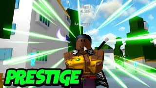 Prestige and LSSJ and Super Saiyan Rose Grind | Dragon Ball Z Final Stand | Roblox | iBeMaine