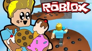 roblox escape the junk food obby game chad alan plays