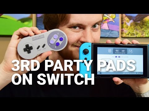 How to Use Third Party Controllers by 8Bitdo on Nintendo Switch