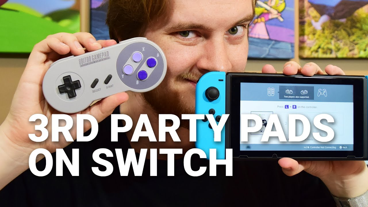 8Bitdo's wireless SNES controller is perfect for Switch retro gaming