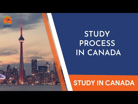 Process to Study in Canada