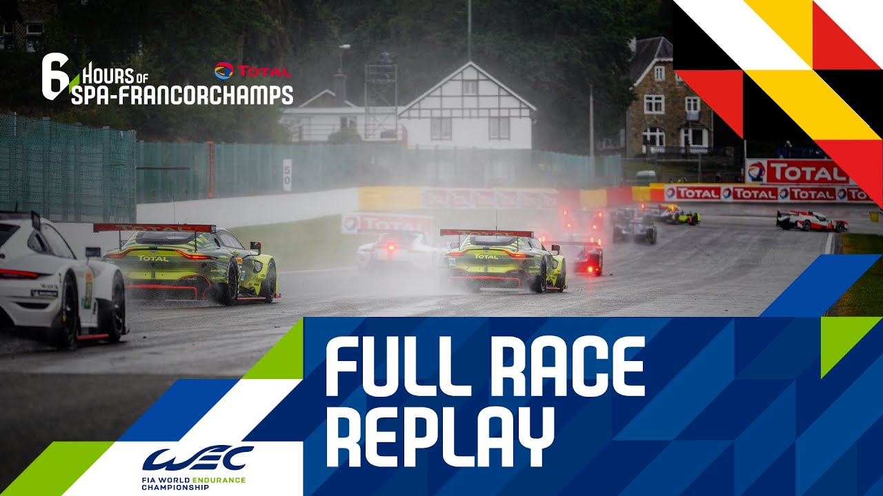 Total 6 hours of Spa-Francorchamps - FULL RACE REPLAY