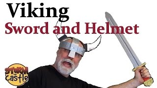 Make a Viking Sword and Helmet -easy and simple project