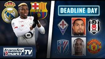 Real & Barça wollen Osimhen im Sommer – Die letzten Transfers des Deadline Days | TRANSFERMARKT