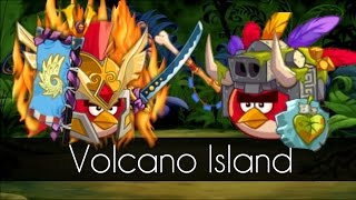 Angry Birds Epic - VOLCANO ISLAND (Daily Dungeon) - Arena Battle