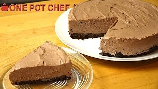 no bake chocolate cheesecake one pot chef