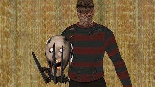Granny vs Jason vs Freddy Krueger funny animation part 50