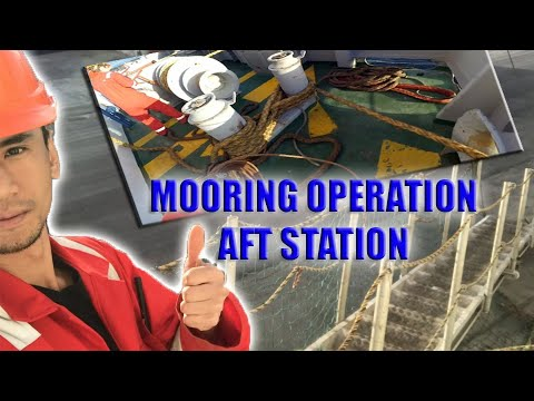 Mooring Operation - Mauritania Africa