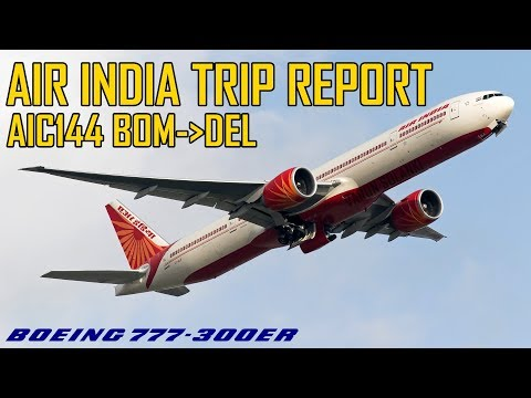 Air India 144 Boeing 777-300ER Mumbai - Delhi
