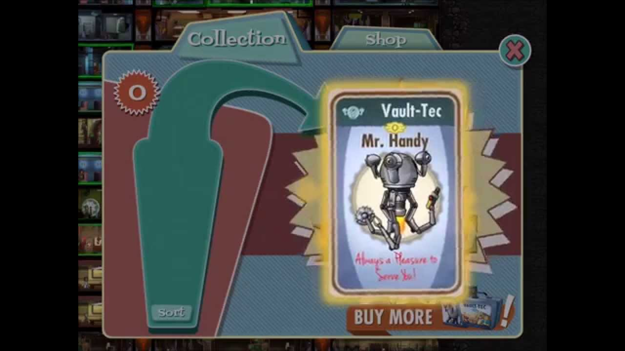 how to get mr handy in fallout shelter for free