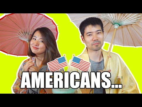 What Japanese Find Surprising About USA