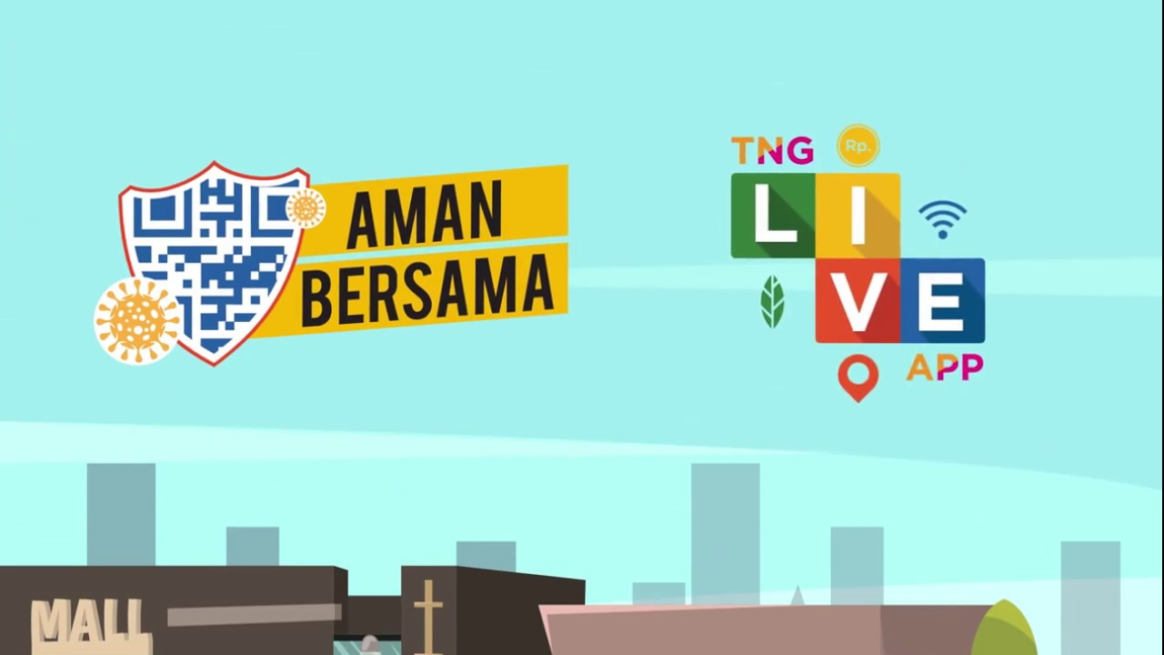 Penggunaan Menu Aman Bersama pada Aplikasi Tangerang LIVE
