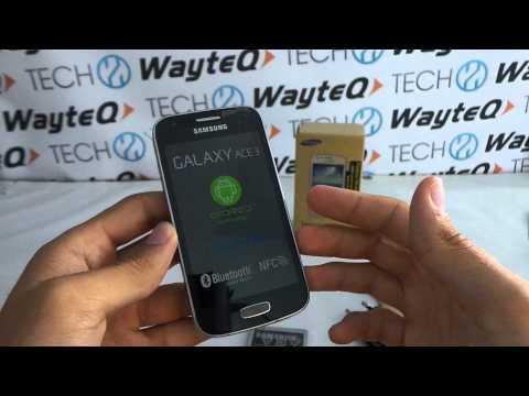 Samsung Galaxy Ace 3 okostelefon kicsomagoló videó