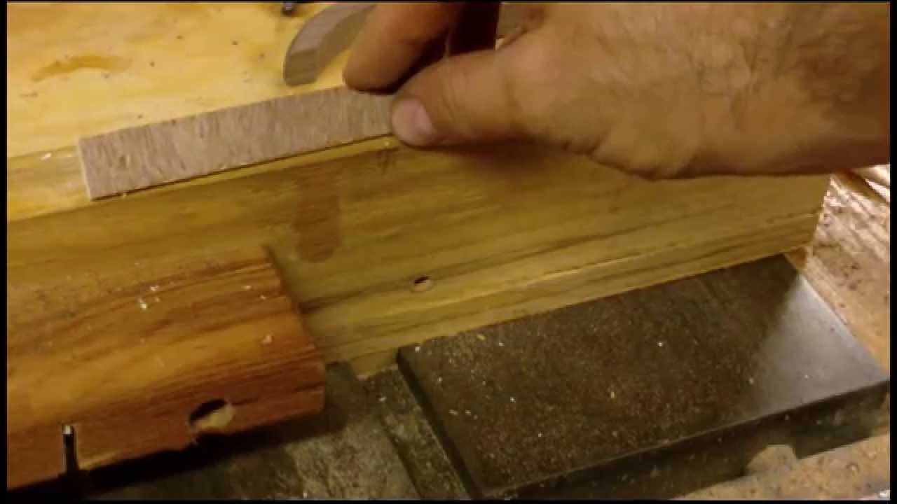 Making Cabinet Door Pulls with a Table saw - YouTube