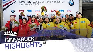 Lochner rings the golden bell in Innsbruck | IBSF Official