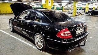 Мечта идиота!Mercedes E w211, невероятные расходы на старый Авто!