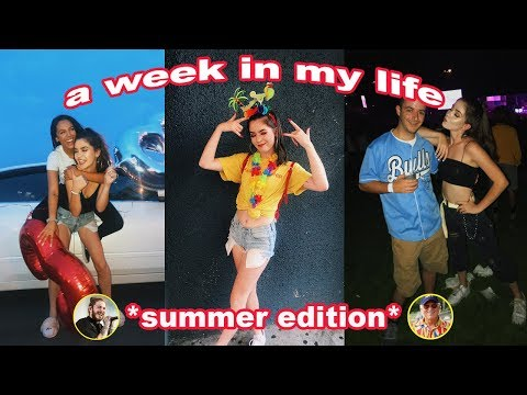 A WEEK IN MY LIFE *concerts & cRaZy sUMMeR fUN!!!*