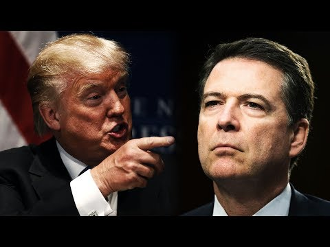 Thumbnail: Anonymous - Donald Trump to Expose James Comey... (Trump Leaks)