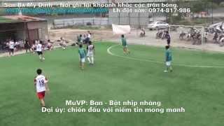 Đỉnh cao bóng đá phong trào│MuVP vs Dai Uy FC│Top Bóng đá