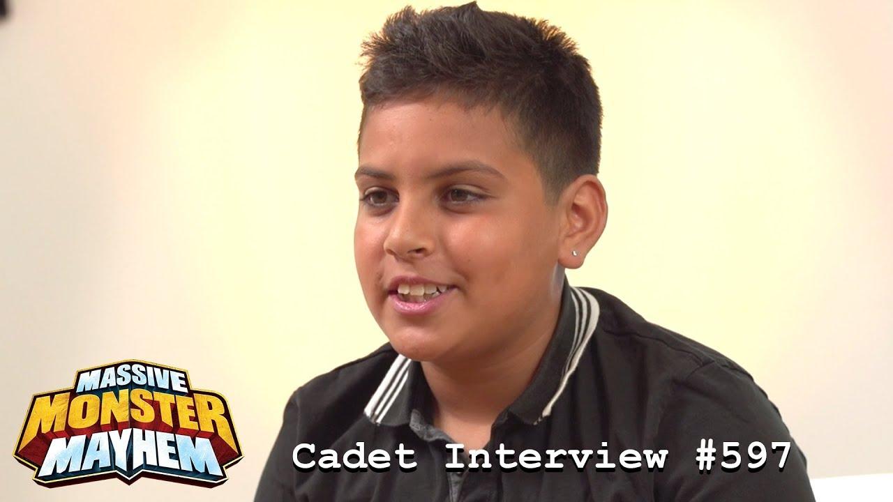 LEAKED! Never-Before-Seen Cadet Interview! | Massive Monster Mayhem