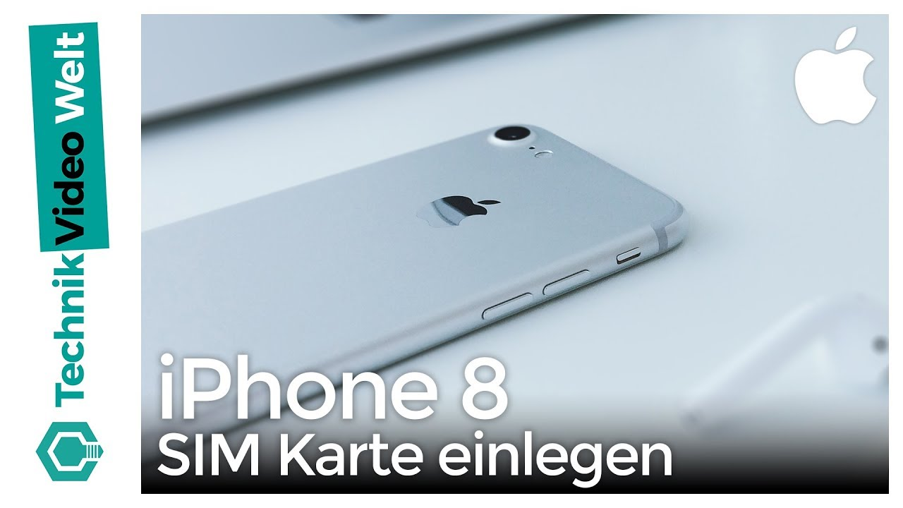 iphone 8 sim karte iPhone 8 SIM Karte einlegen   YouTube